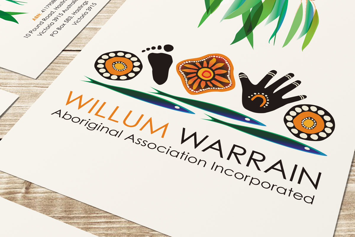 worthy creative design willum warrain logo