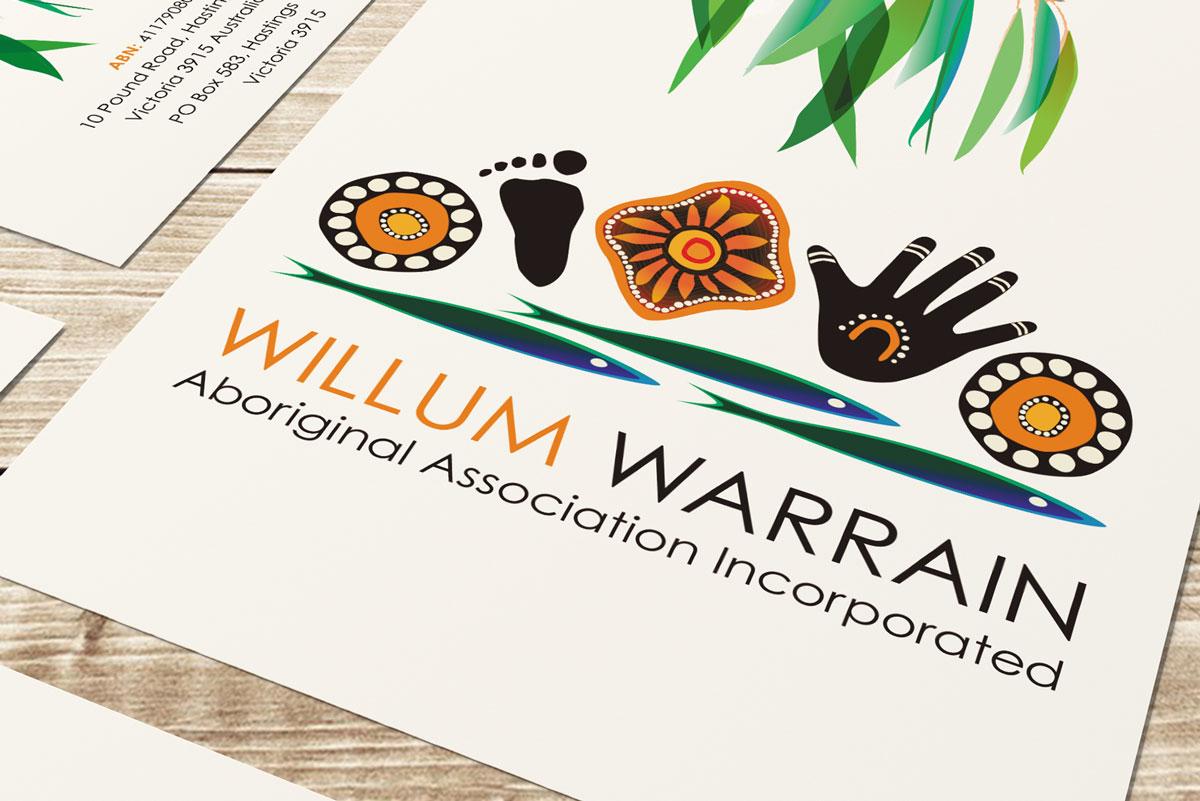 worthy creative design willum warrain logo