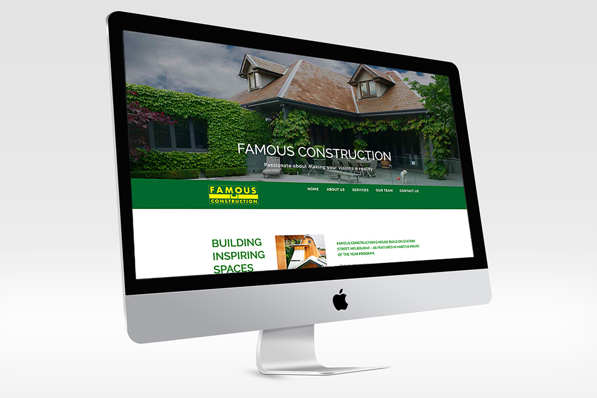 famous construction website design mornington peninsula